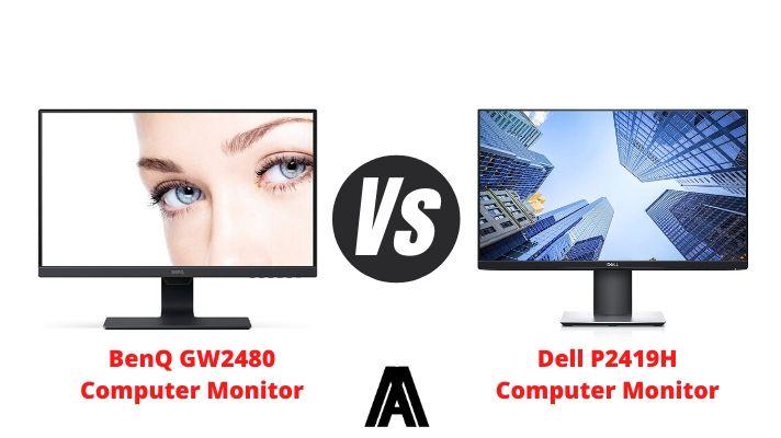 BenQ GW2480 vs Dell P2419H
