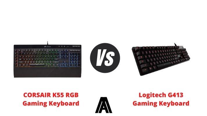 Corsair k55 vs Logitech g 413